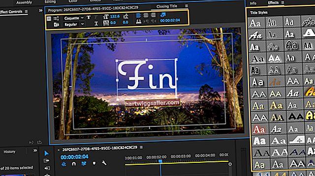 Como adicionar texto e sobreposições de títulos no Adobe Premiere