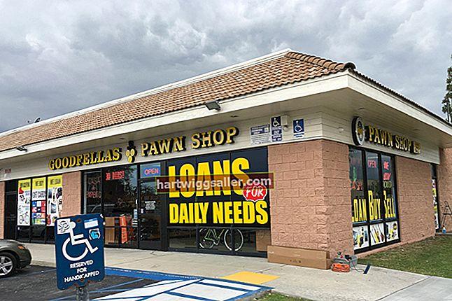 Como funcionam as lojas de penhores?