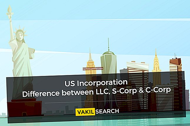As diferenças entre uma C Corp e uma S Corp