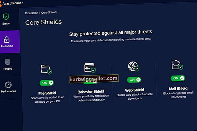 Como desabilitar um Avast Firewall