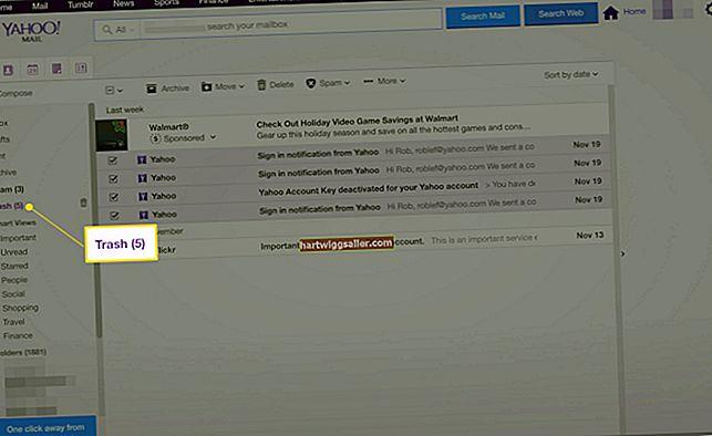 Como excluir milhares de e-mails do Yahoo